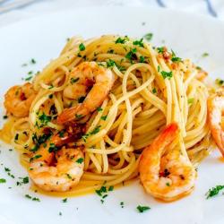 Spaghete aop cu creveți image