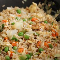 Veggie fried rice image