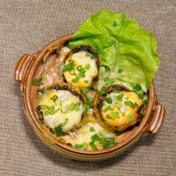 Ciuperci umplute cu brânză Feta image