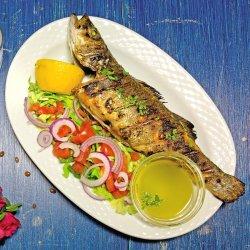 Pește proaspăt la grătar image