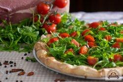 Pizza Pomodoro e rucola image