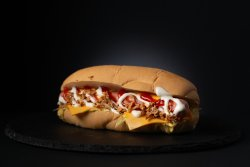 Cheesy Hot Dog image