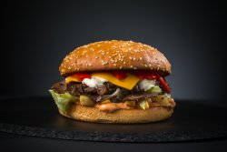 Cheesy Beef Buzzter XL image