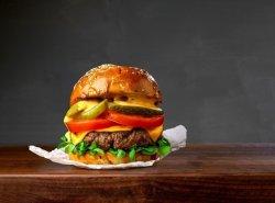 Meat me burger image