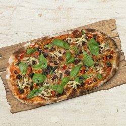 Pizza verde primavera (de post) image