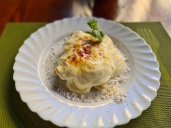 Clătite cu brânză şi stafide  image