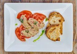 Salată de vinete cu ardei copţi image