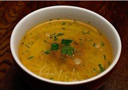 Supă de fazan cu tăiţei de casă image