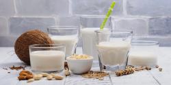 Lapte vegetal pentru cafea image