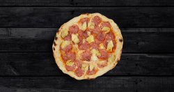 Pizza salami (napoli) image