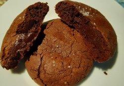 Biscuiți de secară cu ciocolată neagră belgiană image