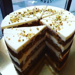 Carrot Cake - felie image