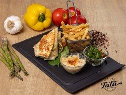 Sandwich Falafel cu cartofi prajiti (produs de post) image