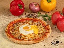 Pizza cu ou image