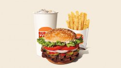 Double Whopper Meal image