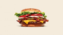 Bacon & Cheese Whopper image
