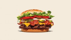 Double Bacon & Cheese Whopper image