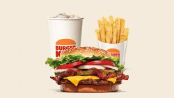 Bacon & Cheese Whopper Meal image