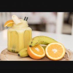 Smoothie orange-banane image