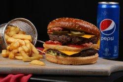 Burger vită angus dublu image