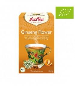 nadr-481972 ceai eco yogi cu flori de ginseng lemongrass si menta 1.8g*17