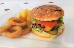Meniu chicken crazy burger image