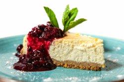 Cheese cake cu fructe de pădure image