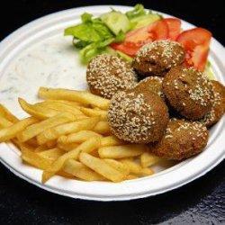 Falafel farfurie   image