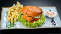 Meniu Crispy chicken burger  image