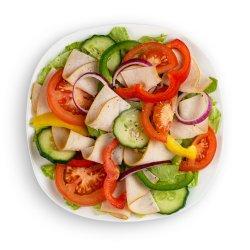 Salată cu șuncă de curcan image