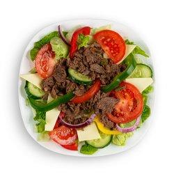 Salată cu vită și brânză image