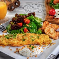 OMELETTE GOAT CHEESE image