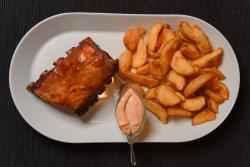 Meniu coaste picante de porc