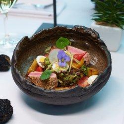 Nicoise Tuna Steak Salad image