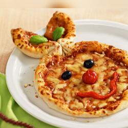 Pizza Prosciutto kids image