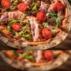 Pizza Prosciutto crudo image