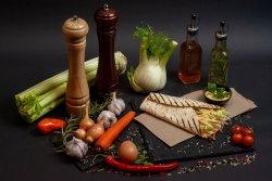 Wrap cu legume image