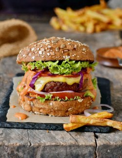 Veggy Burger image