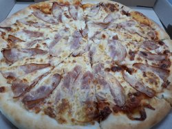 Pizza Fan Bacon