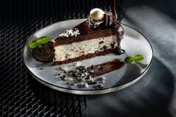 Oreo biscuit mousse image