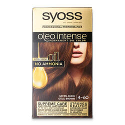 Syoss Oleo Intense Vops. Gold Brown 4-60