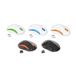 Omega Mouse Wireless Color Mix