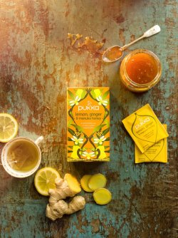 Pukka lemon, ginger & manuka honey image