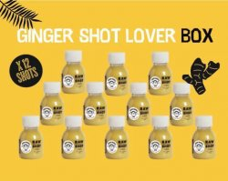 Ginger shot lover box image
