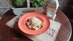 Paste Carbonara cu zucchini  image