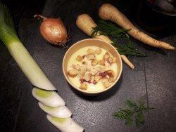 Cremă de cartofi cu praz  image