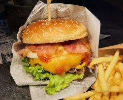 Burger Forest cu cartofi super crunch  image