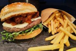Burger Italian cu cartofi super crunch  image