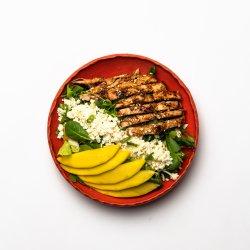 Turkey Salad With Teriyaki Sauce image