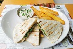 Meniu 9- tortilla vegetariana image